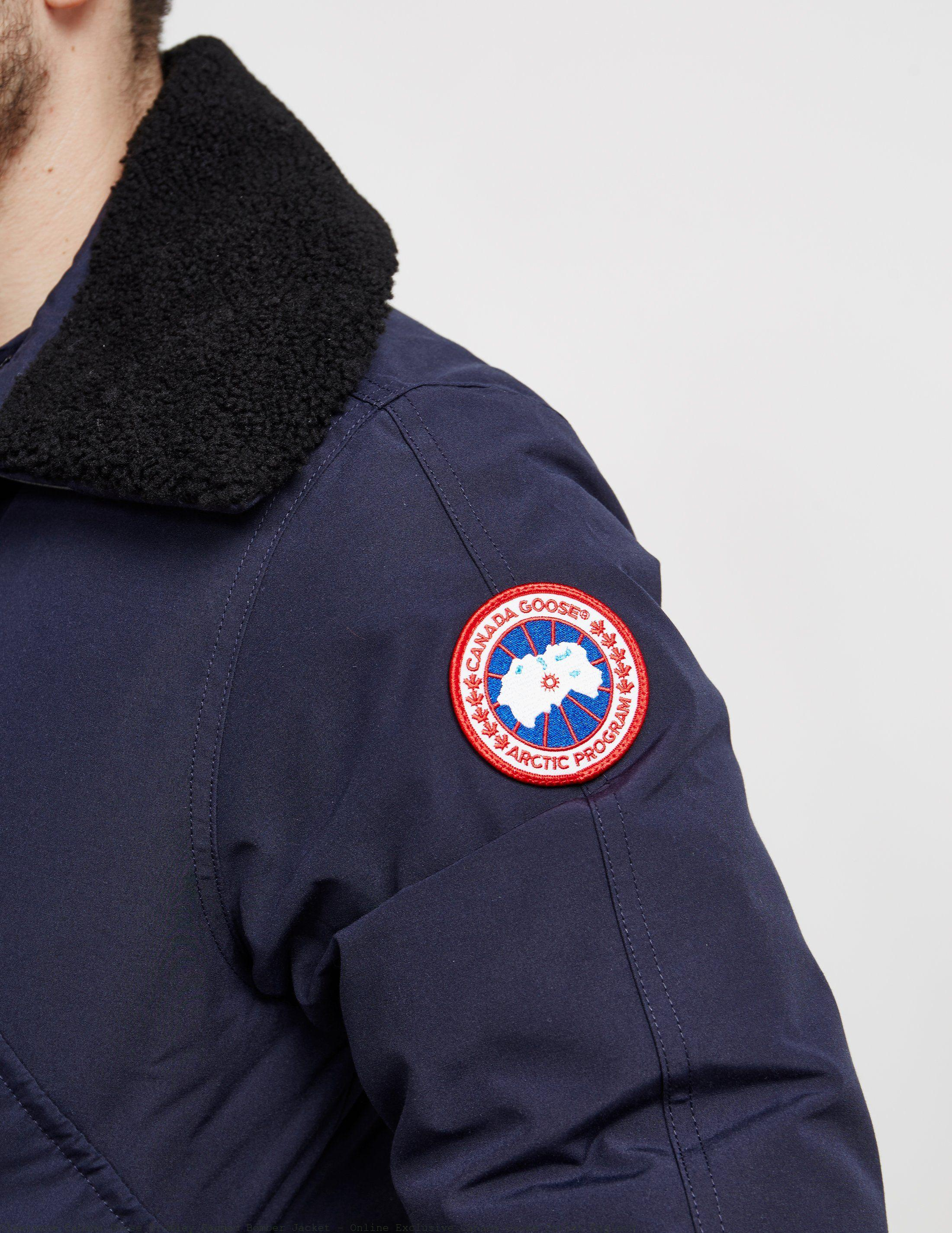 20c961db544 Clearance Canada Goose Bromley Padded Bomber Jacket - Online Exclusive  Canada Goose Outlet England