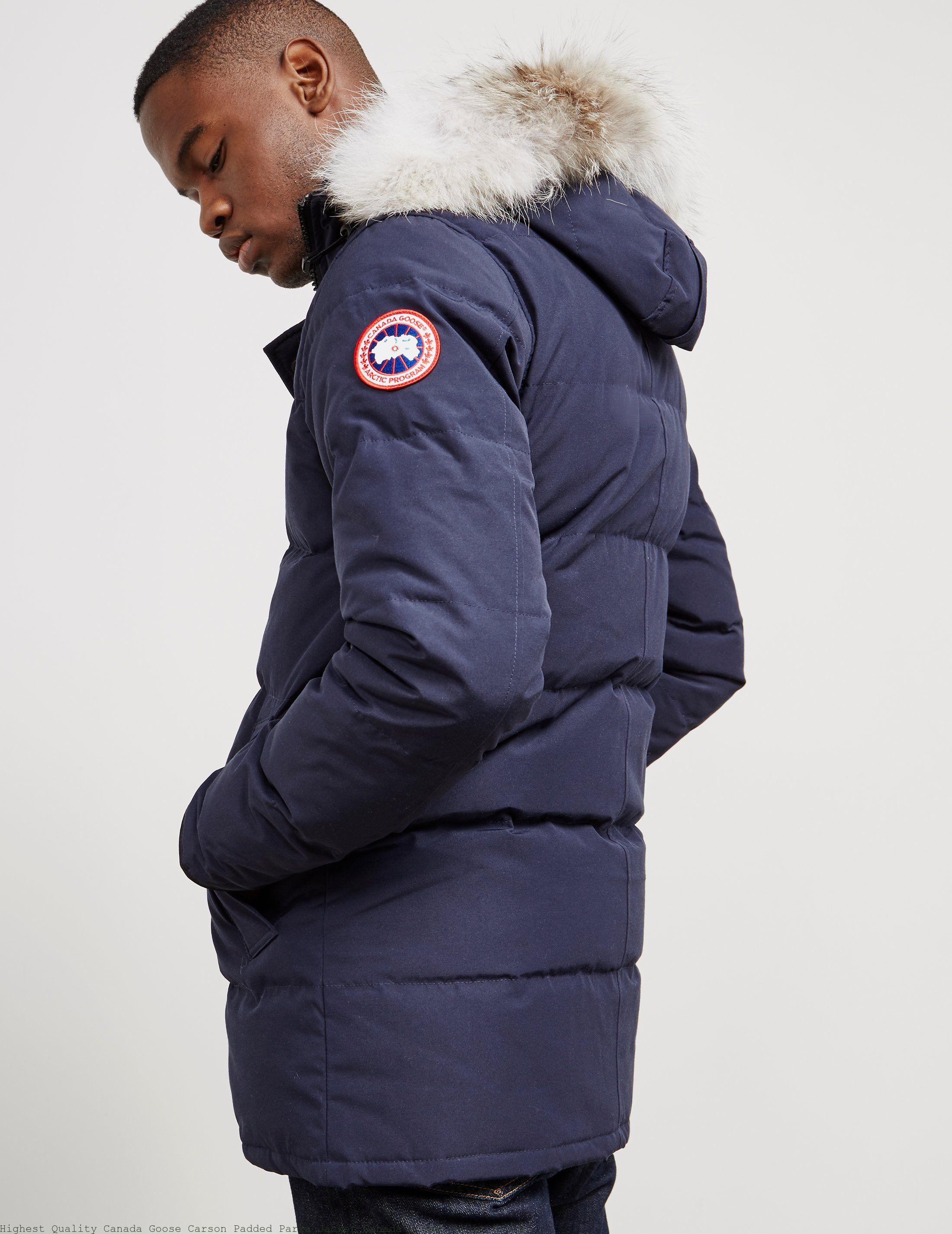 Highest Quality Canada Goose Carson Padded Parka Jacket Canada Goose Outlet  Store 3bc42ac20fbf
