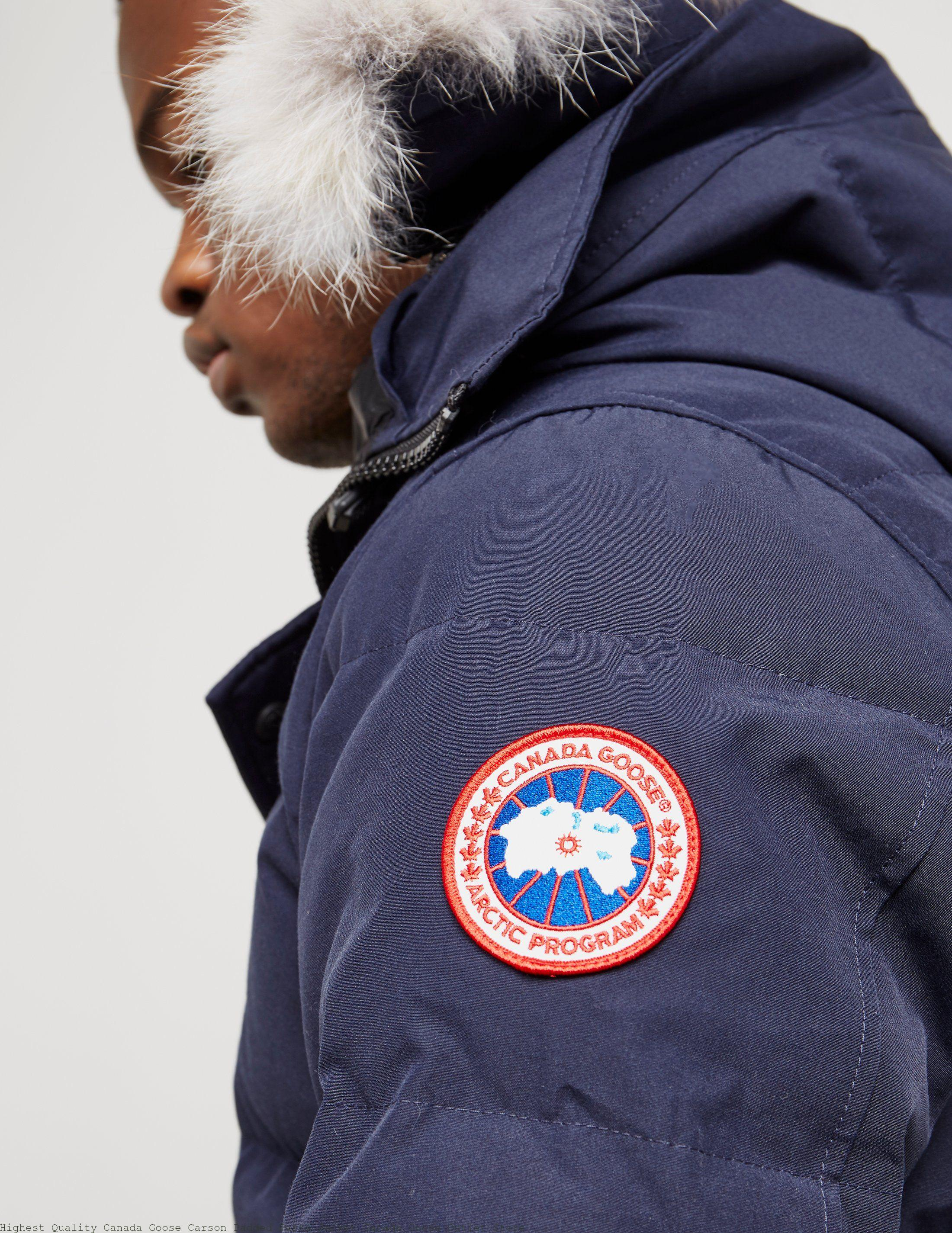Highest Quality Canada Goose Carson Padded Parka Jacket Canada Goose Outlet  Store 17eb5c33a