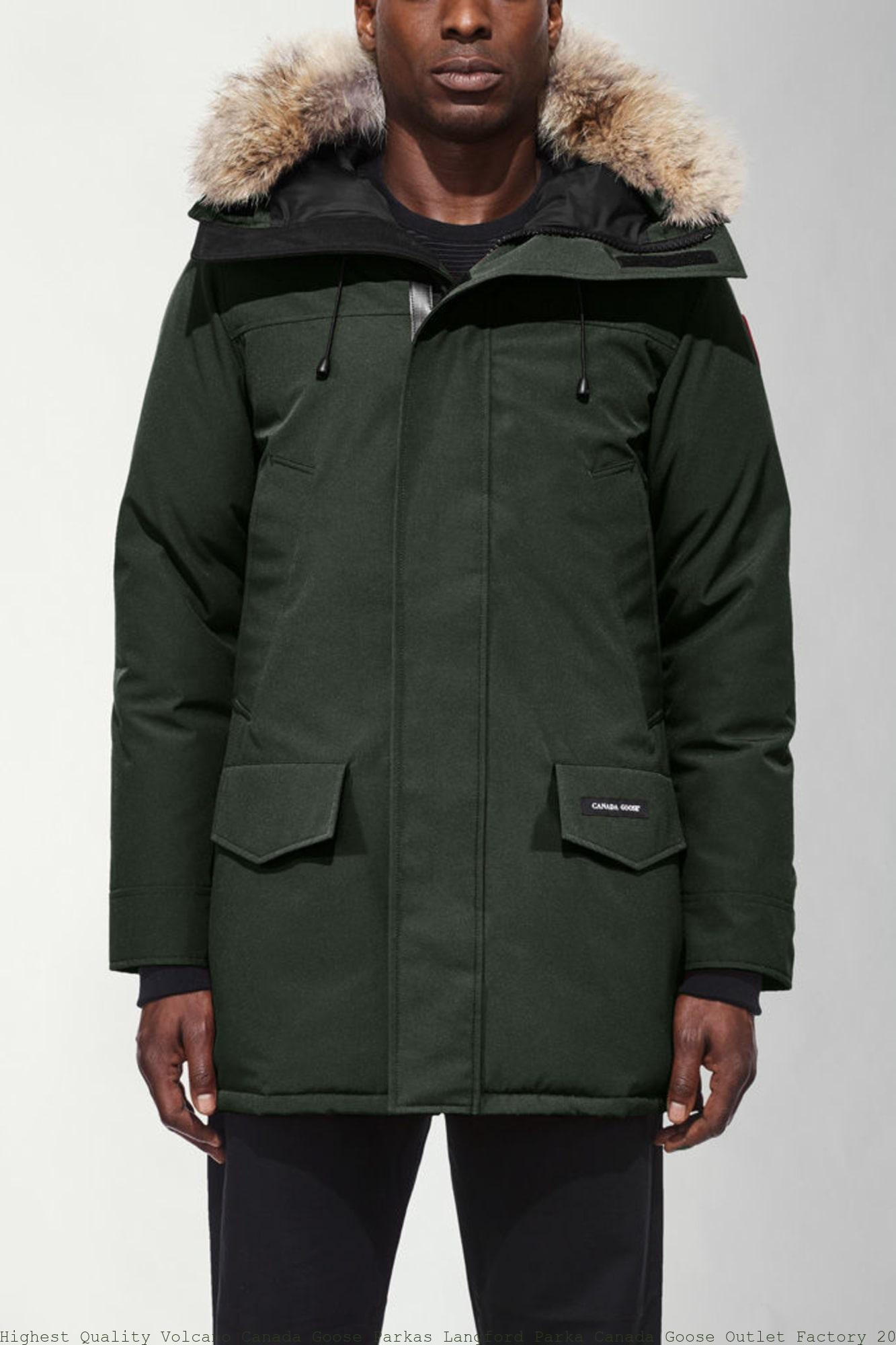 aafb55cd06c Highest Quality Volcano Canada Goose Parkas Langford Parka Canada Goose  Outlet Factory 2062M