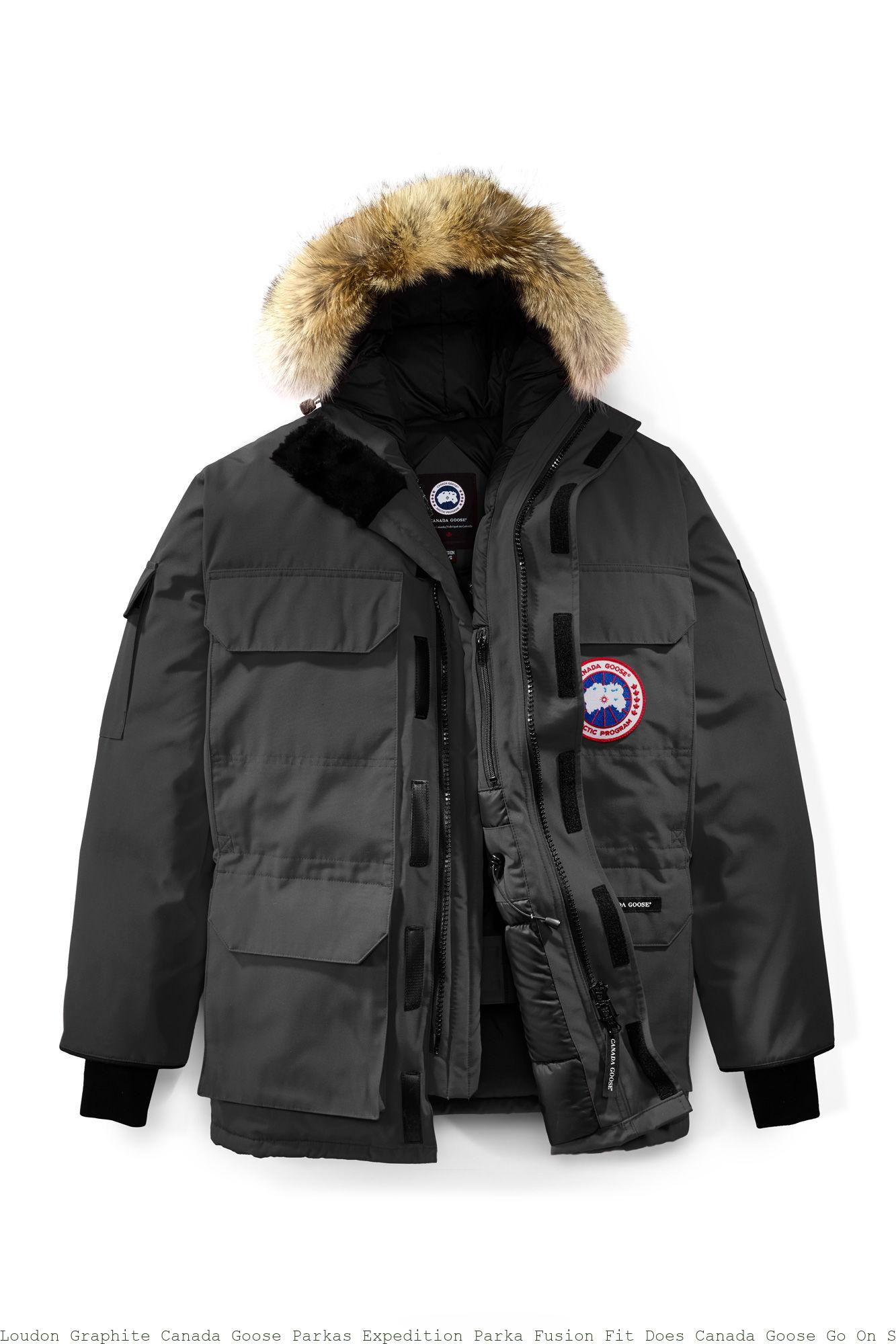 Loudon Graphite Canada Goose Parkas Expedition Parka Fusion Fit Does Canada Goose Go On Sale Black Friday 4660ma Why Cheap Canada Goose Outlet Sale Is Good Jackets