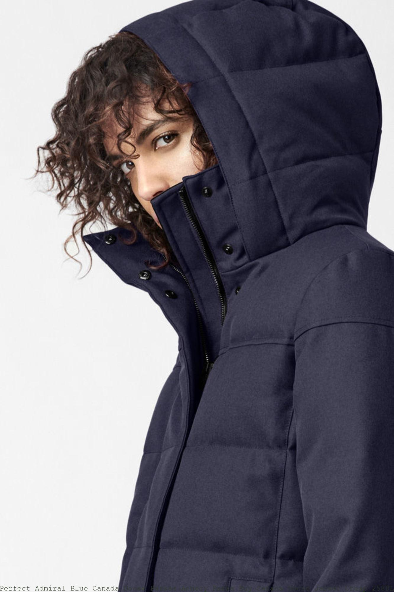 b4c39b796e2 Perfect Admiral Blue Canada Goose Parkas Annecy Parka Buy Canada Goose  Jacket Cheap 2588L