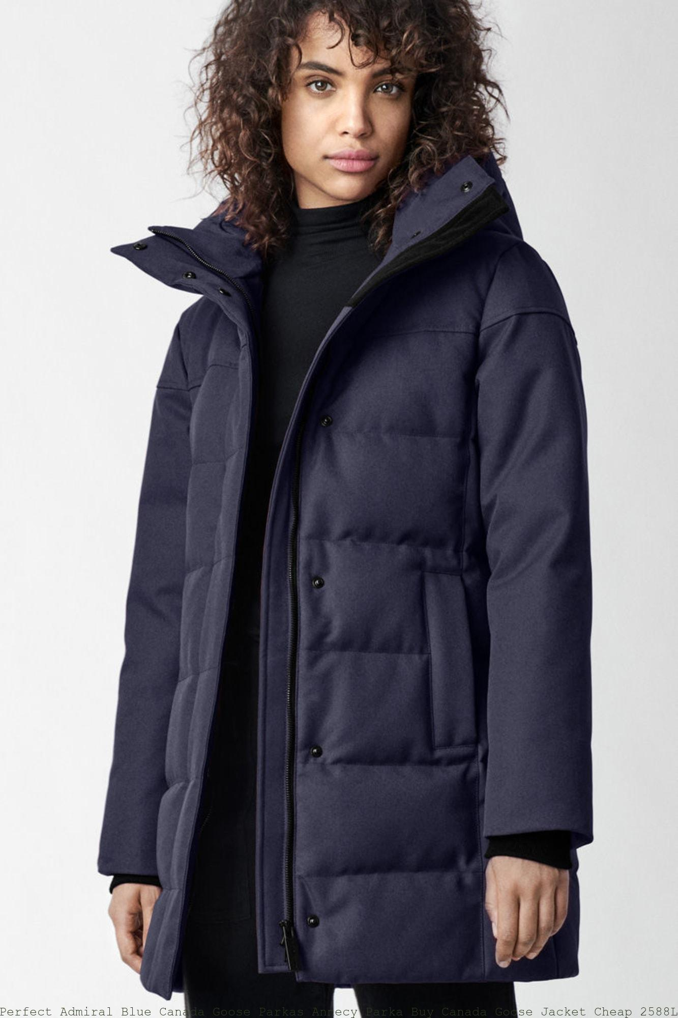 14e0efb8909 Perfect Admiral Blue Canada Goose Parkas Annecy Parka Buy Canada Goose  Jacket Cheap 2588L