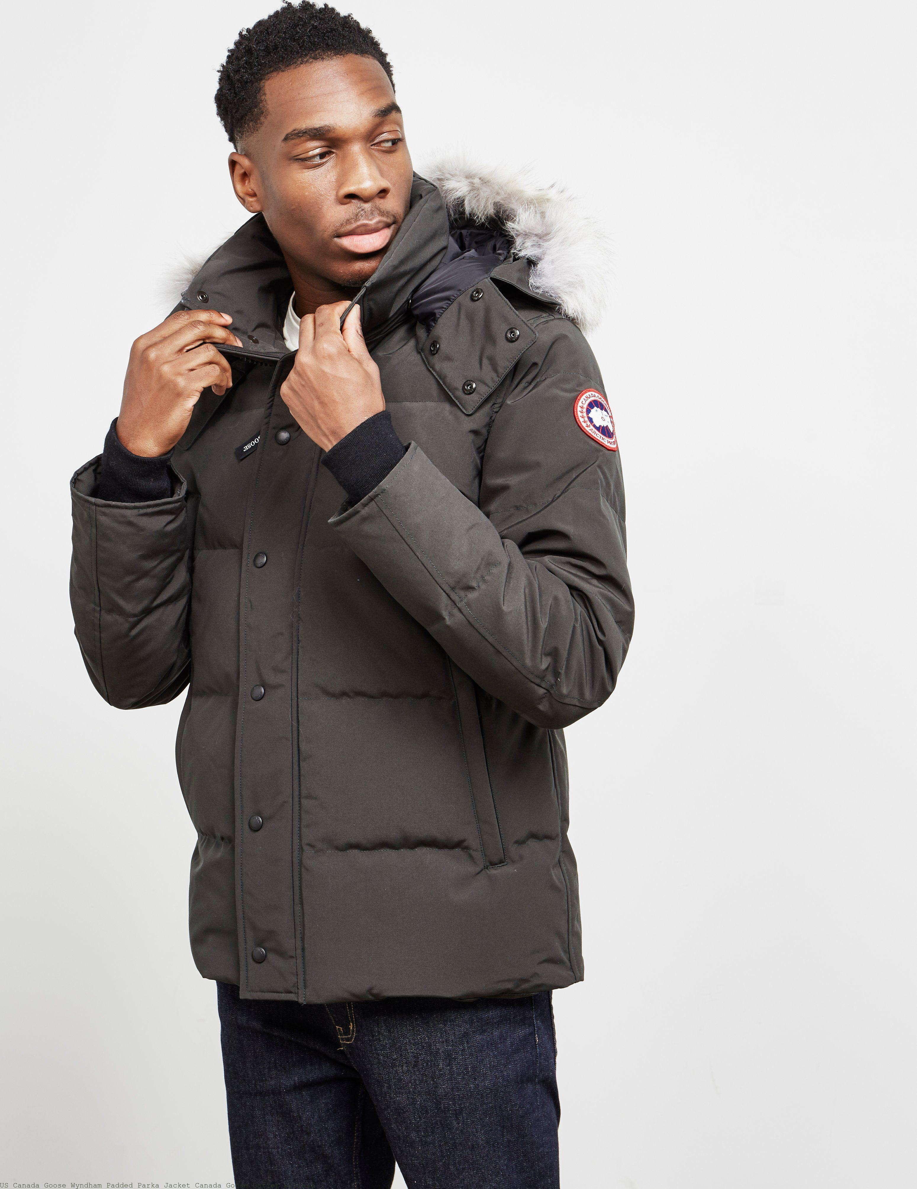 f55817d765a US Canada Goose Wyndham Padded Parka Jacket Canada Goose Outlet Buffalo